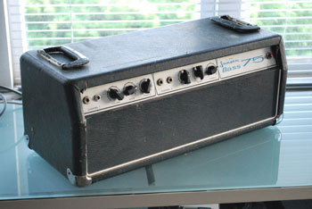 Jansen 75 Tube Bass Amp