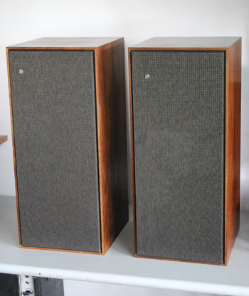 Bang and Olufsen  Beovox 3000 Vintage Audiophile Speakers