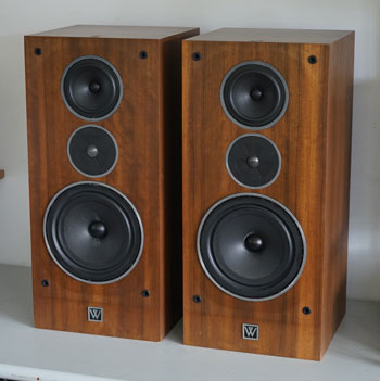 Wharfedale 510.2 Vintage Audiophile Speakers