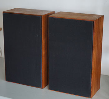 KEF K2 Celeste Vintage Monitor Speakers