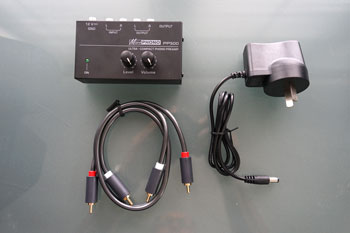 External Phono Preamp