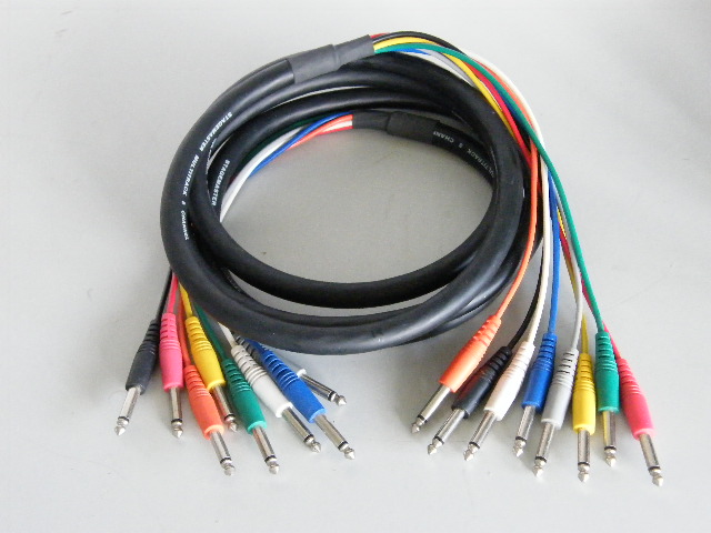 Stagemaster 3 Meter 8 Way Phono Snake Cable