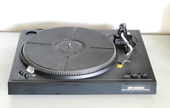 Sony RP-3000 Direct Drive Turntable
