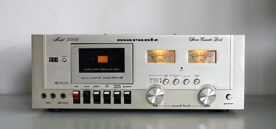 Marantz 5000 Vintage Cassette Deck For Sale