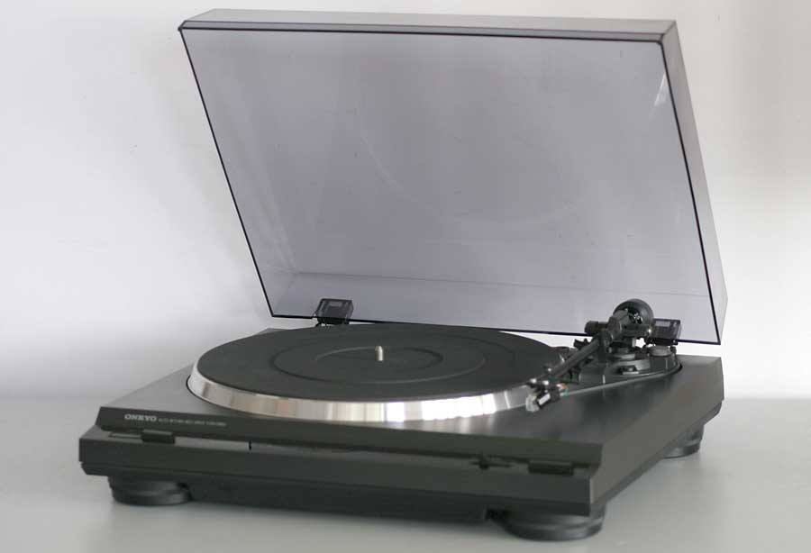 onkyo turntable. onkyo cp1200a belt drive turntable picture 1 n