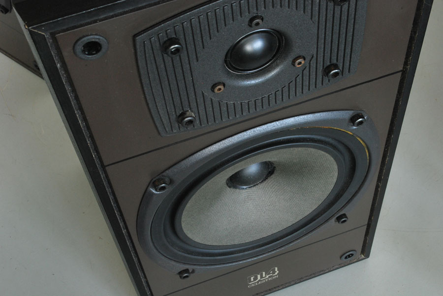 Celestion DL4 Vintage Bookshelf Speakers Picture 3